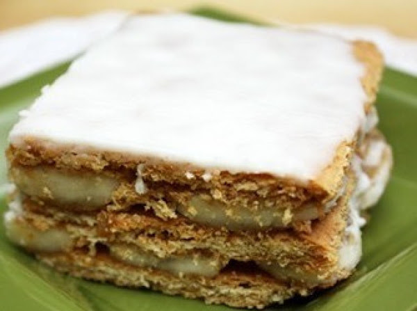 Graham Cracker Banana Treat Recipe