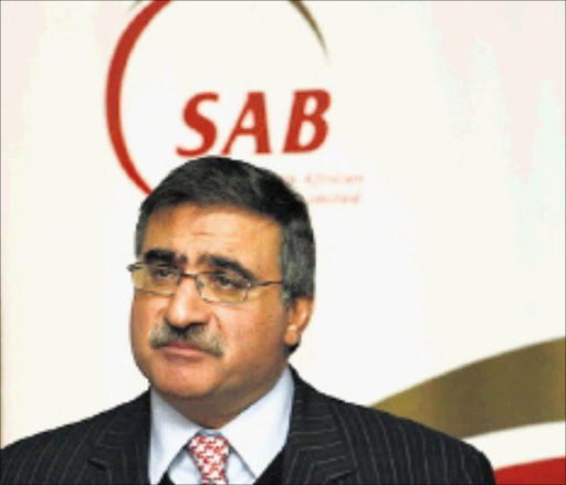 TAKING NOTE: SAB boss Norman Adami. Pic: © Desiree Swart. 11/01/2010.