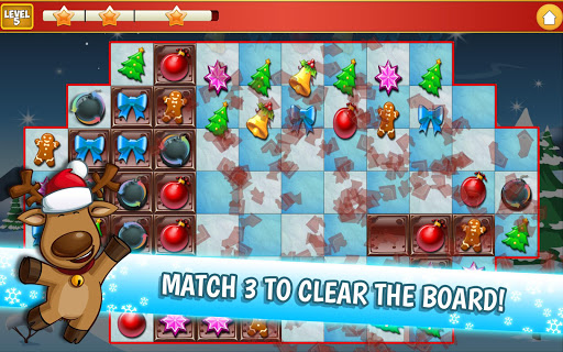 Christmas Crush Holiday Swapper Candy Match 3 Game 1.35 screenshots 10