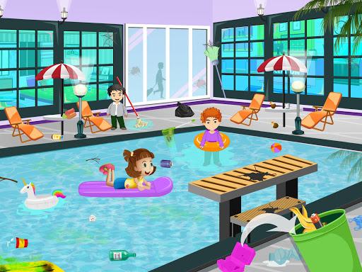 Pretend Play Hotel Cleaning: Doll House Fun 1.1.1 screenshots 3