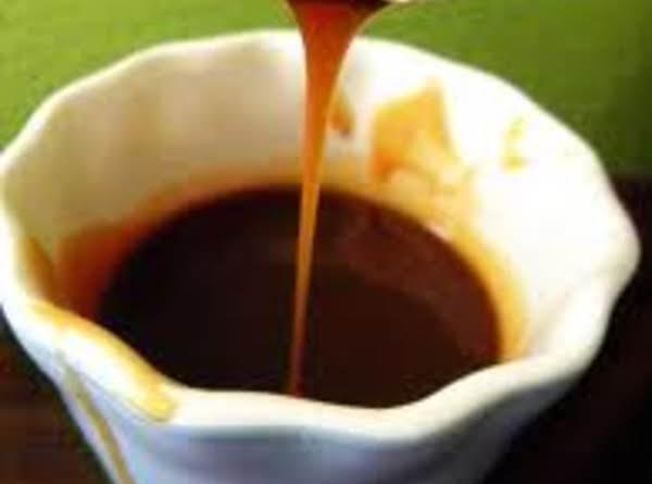 Salted Caramel Dipping Sauce Recipe