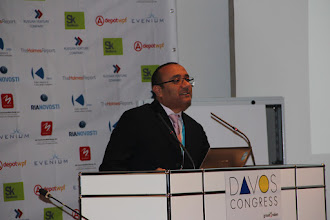 Photo: Mohamd Al Ayed, Forum Moderator for Day 1