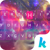 Galaxy Keyboard Theme – Delicate Phone Theme