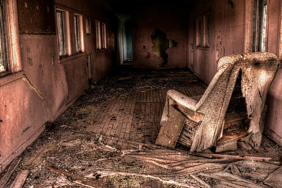 Wasting Away by Michele Richter - Buildings & Architecture Decaying & Abandoned