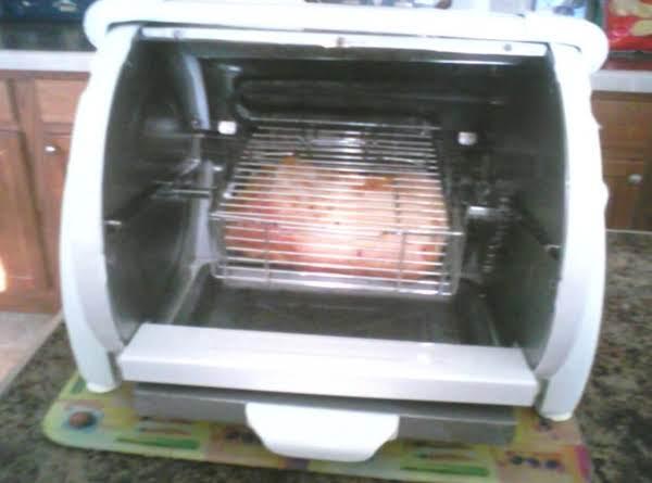 Pork Loin In Rotissire Basket