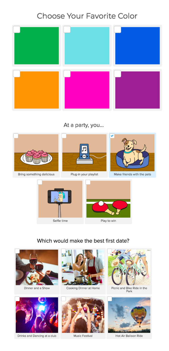 How to Make a Myers-Briggs Type Personality Quiz