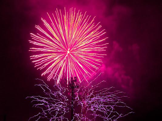 Fuochi d'artificio di Claudio Polesel