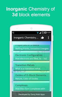 Inorganic Chemistry(d block) - screenshot