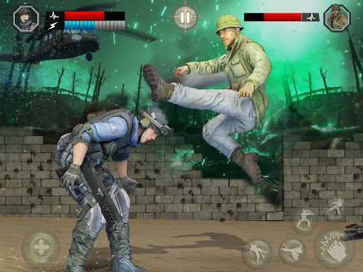 Army Battlefield Fighting: Kung Fu Karate apkpoly screenshots 7