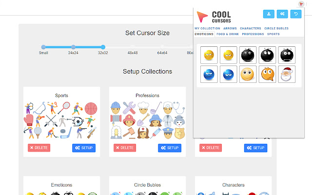 Cool Cursors for Chrome™
