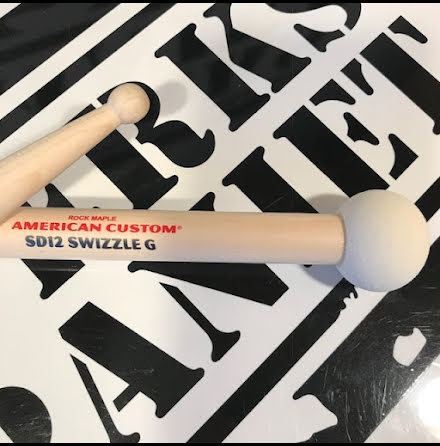 SD12 Swizzle General - Vic Firth - American Custom