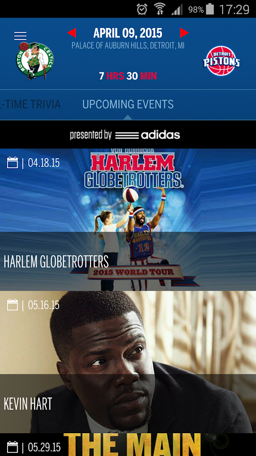 Detroit Pistons Official App - screenshot