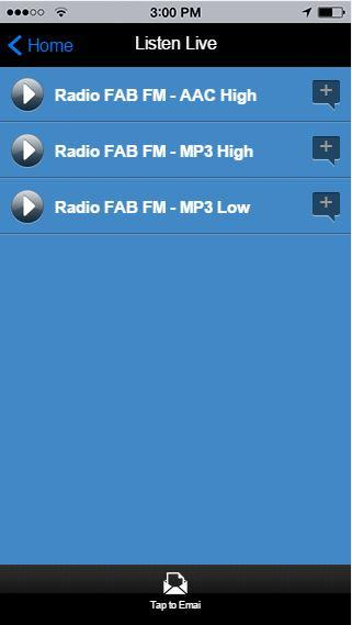 Radio FAB FM- screenshot