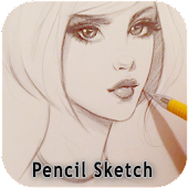 Photo Pencil Sketch Drawing Art Filter Editor