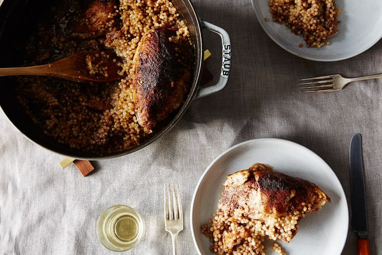 A cozy, one-pot chicken perfect for dinner tonight