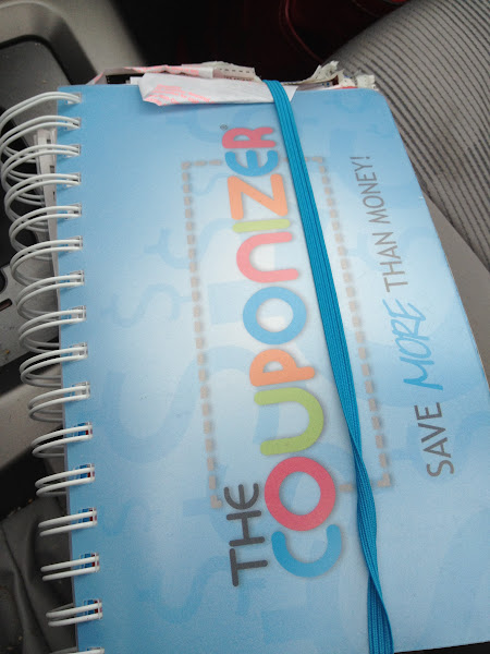 Photo: My trusty coupon organizer at the ready.