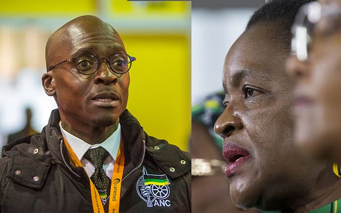 DA wants the two minister who have been found to have lied under oath Malusi Gigaba and Bathabile Dlamini to be given the chop