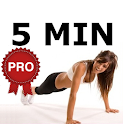 5 Minute Morning Workout PRO icon