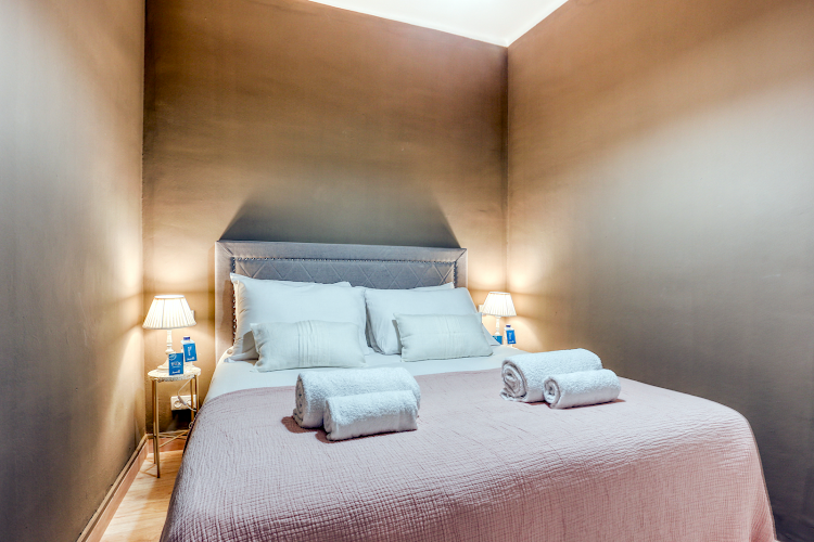 Luxury bedroom at Rocafort