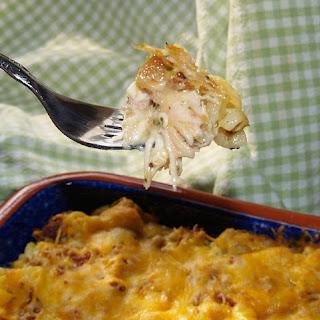 Rotisserie Chicken Casserole.