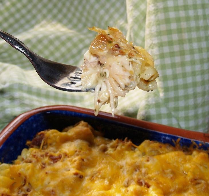 Rotisserie Chicken Casserole Recipe
