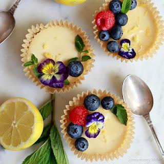Vegan Paleo Lemon Tarts Recipe