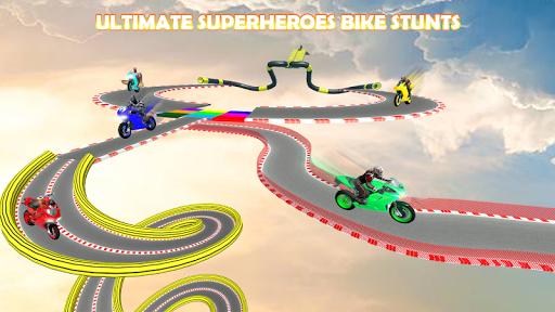 Superheroes Bike Stunts Scraper - Thumb 1.0 screenshots 1