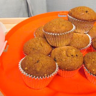 Gluten Free Pumpkin Walnut Muffins