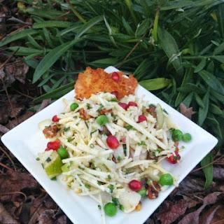 Parsnip, Pear and Pecan Salad (A Lotta Alliteration Salad!).