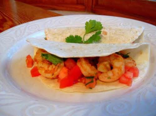 "Chipotle Lime Shrimp Tacos ""These are super easy and tasty. Adding the..."