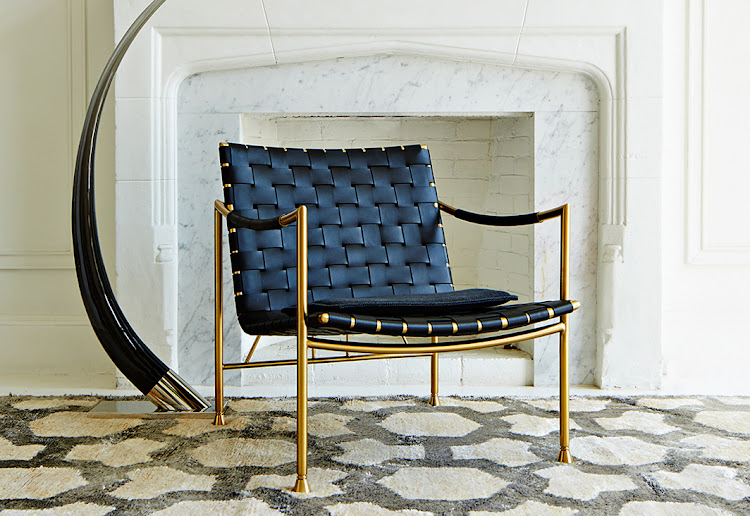 The Jonathan Adler Thebes Lounge Chair.