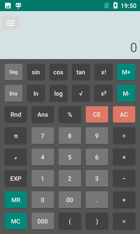Everyday Calculator All-in-one- screenshot