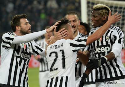 Juventus is bijna kampioen, door de overwinning op Palermo staat deploeg 9 punten voor op Napoli