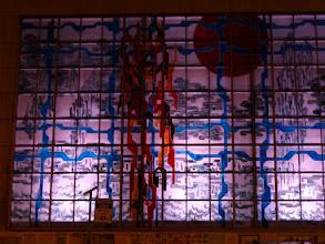 Photo: Nachts das Fenster hinterleuchtet –leider ein ganz seltenes Erlebnis. Foto Geiß