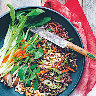 Stir-fried Red Rice