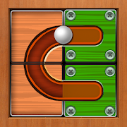 Roll Ball Tuk tuk: unblock sliding trap tile 2019‏