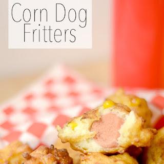 Corn Dog Fritters.