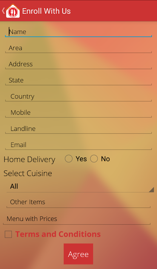 Make My Foodie - HomeFood- screenshot