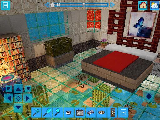 AdventureCraft: 3D Block Building & Survival Craft  8