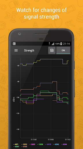 Cell Signal Monitor: monitoring of mobile networks screenshots 2