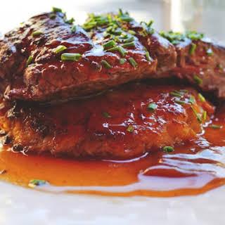 Minute Steak with Gravy.