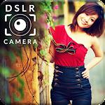 DSLR Camera Blur Background Photo Editor Icon