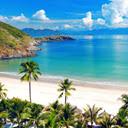 Tropical Beach New Tab Theme