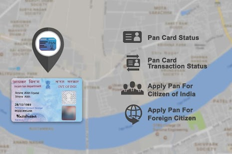 PAN Card Search, Scan, Verify & Application Status - náhled