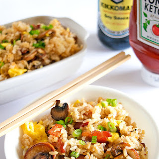 Authentic Japanese-American Fried Rice.