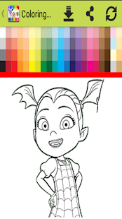 Coloring book for vampiriinna life - náhled