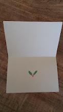 Photo: 二つ折りカード8 (christmas card)〈中〉