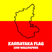 Karnataka Flag Live Wallpapers