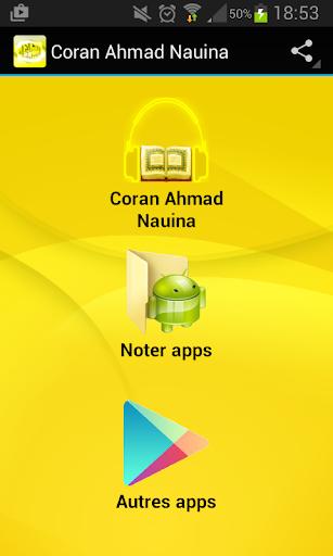 Coran Ahmad Nauina