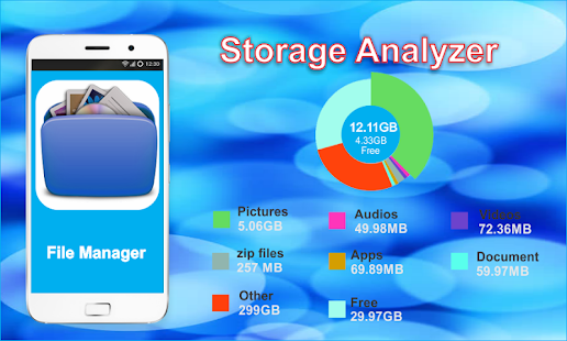 file manager hd expert - náhled